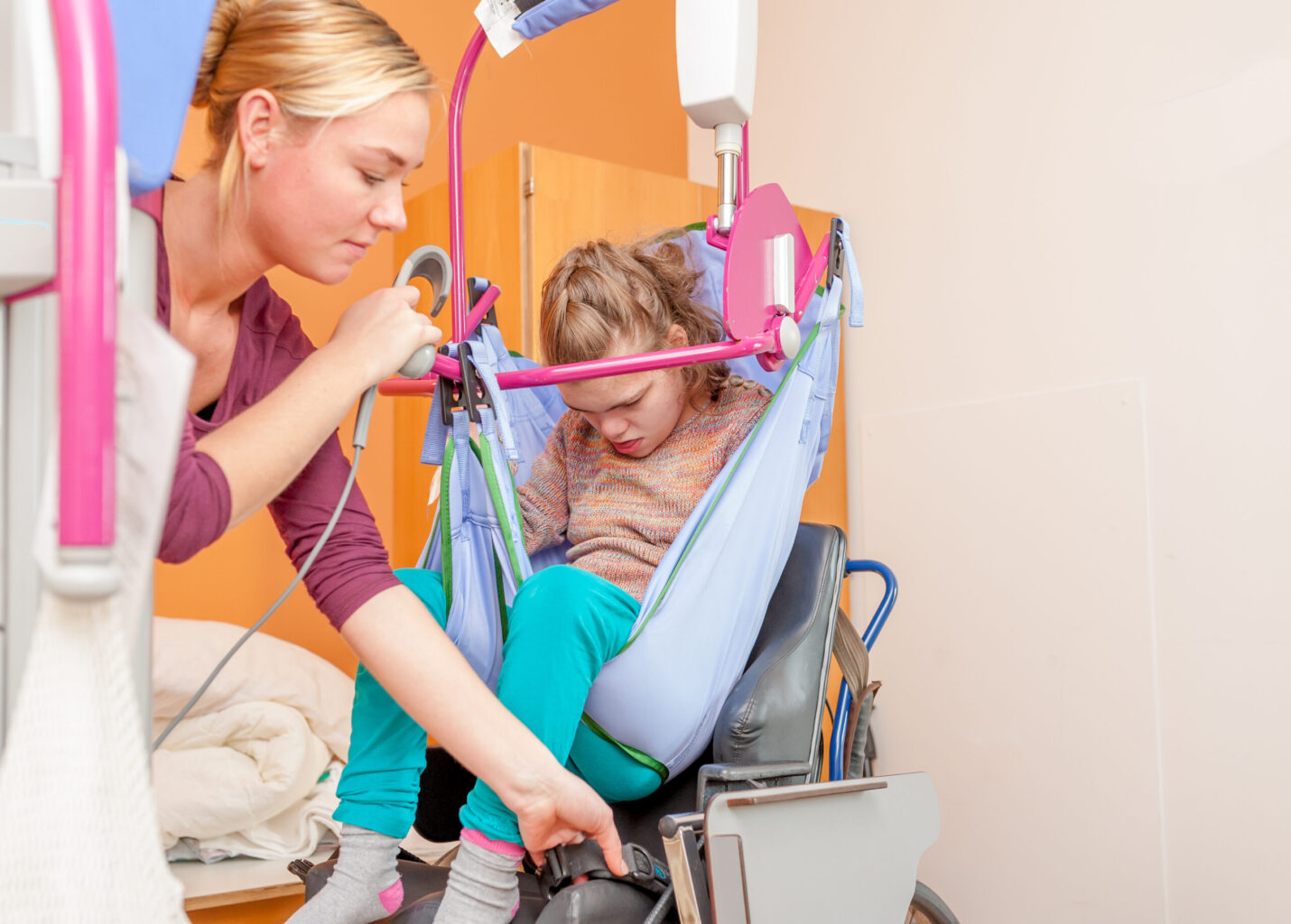 Zorgprofessional in gehandicaptenzorg